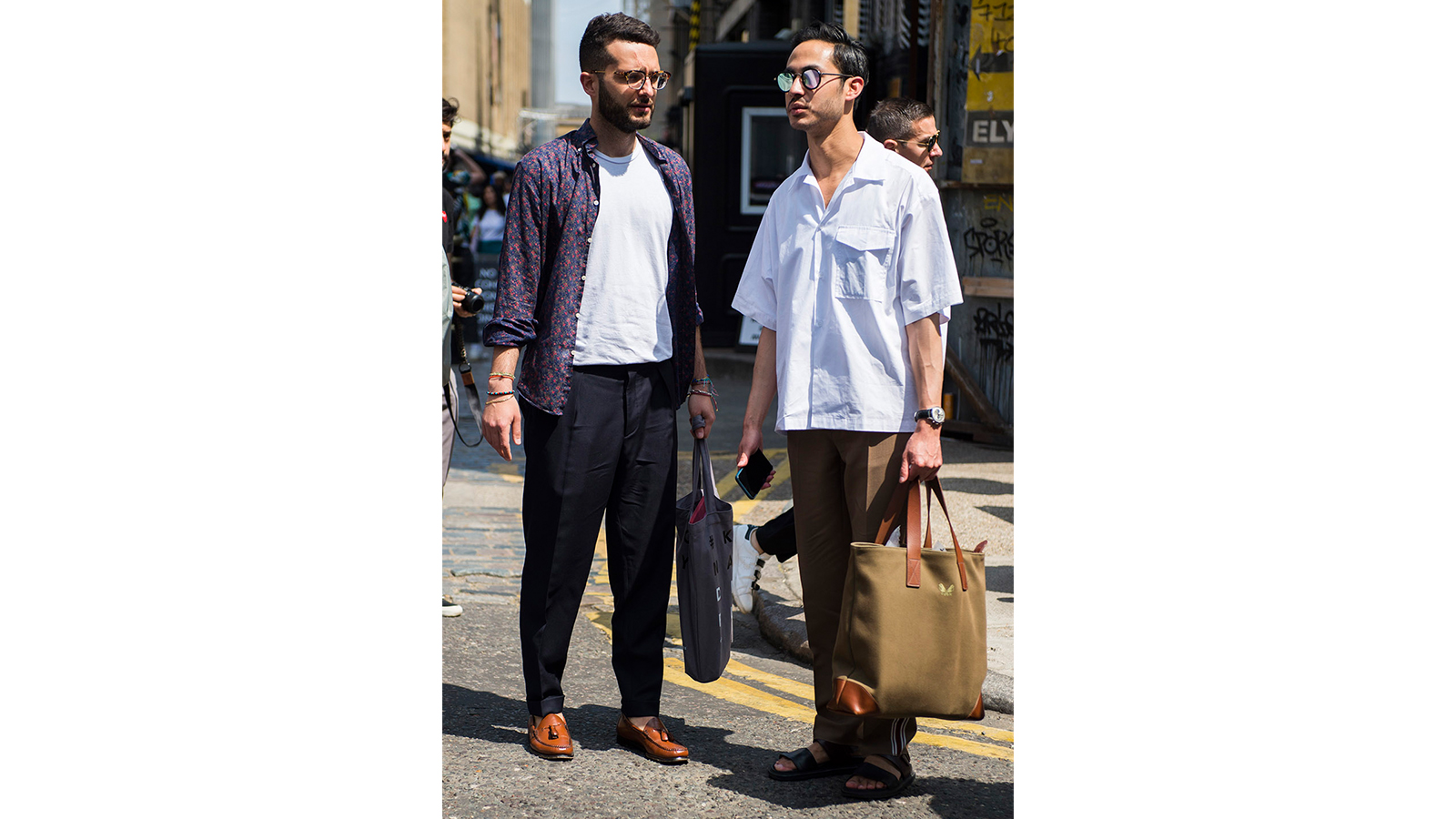 7 style tips for tall men - approach patterns with caution