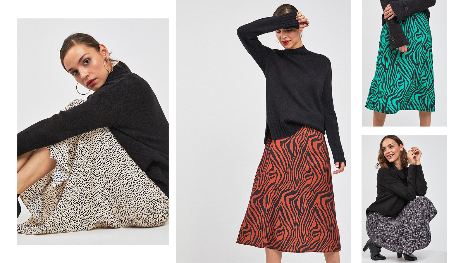How to wear the midi skirt at Next